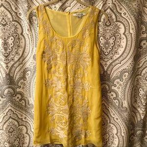Yellow Shift Dress 💛